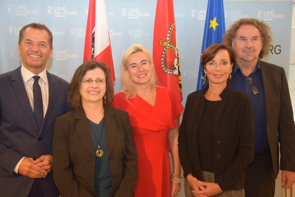 Expertinnen und Experten der Bundesländer tagten in der Salzburger Neuen Residen..