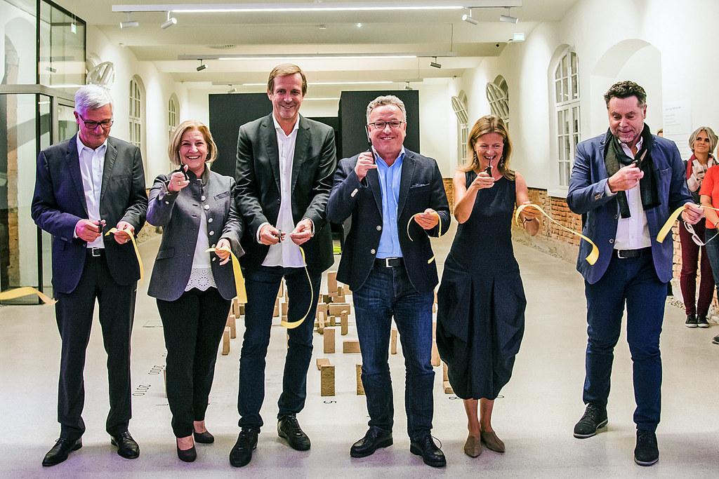 Bürgermeister Harald Preuner, Andrea Brandtner (Bereichssprecherin für Soziales ..