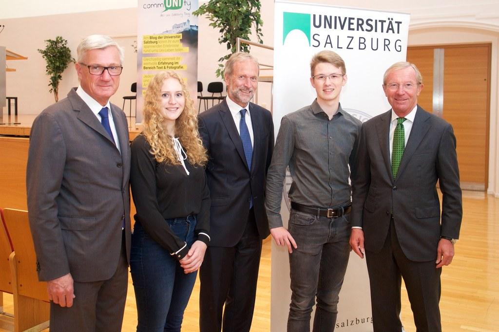 Orientierungstage und Welcome Day an der Universität Salzburg, im Bild: Bürgerme..