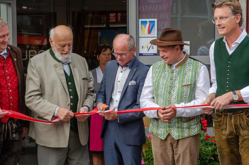 Eröffnung der Sepp Forcher Strube im FIS Landesskimuseum Werfenweng.