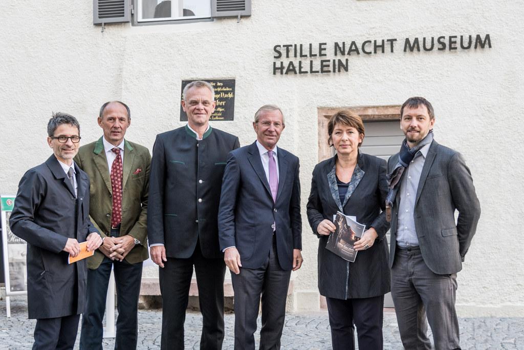 Alles Neu heißt es ab nun im Stille Nacht Museum Hallein, im Bild: Martin Hochle..