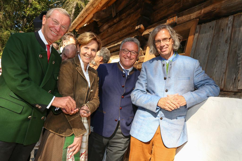 Die Rainerkeusche hat ein neues Zuhause im Freilichtmuseum gefunden und wurde vo..