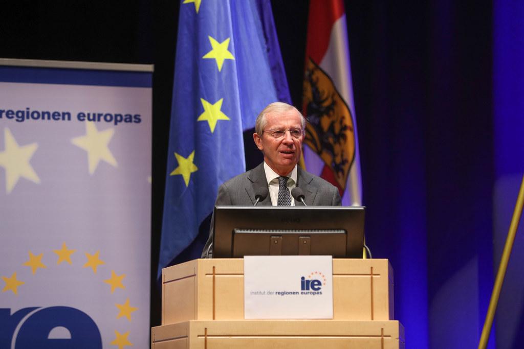 LH Wilfried Haslauer begrüßte die Teilnehmer der 14. Konferenz Europäischer Regi..
