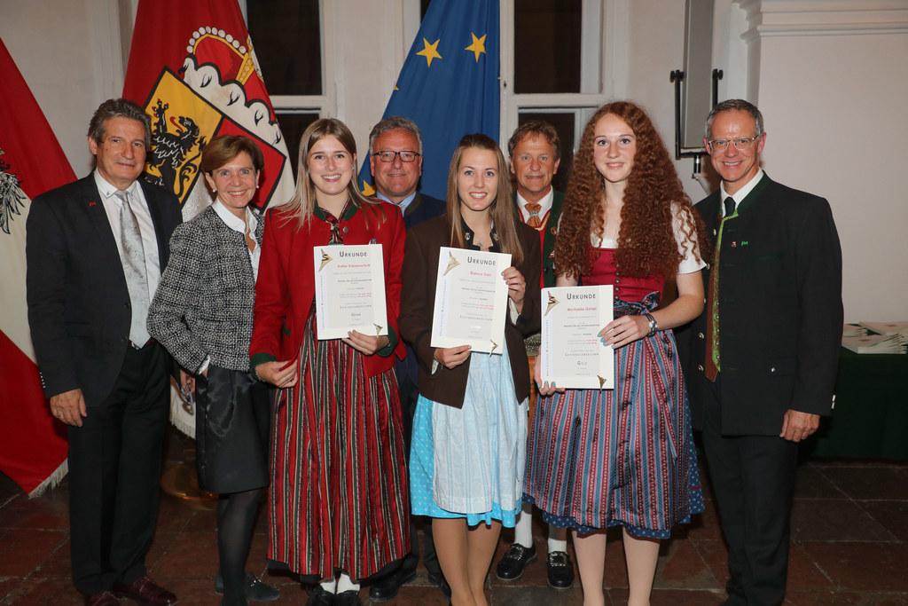 Festakt Land Salzburg für Jungmusikerinnen und Jungmusiker in der Residenz Salzb..