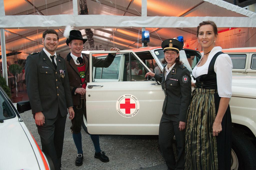 Das Rote Kreuz in Saalbach-Hinterglemm feiert 40-Jahres-Jubiläum, im Bild: Timm ..