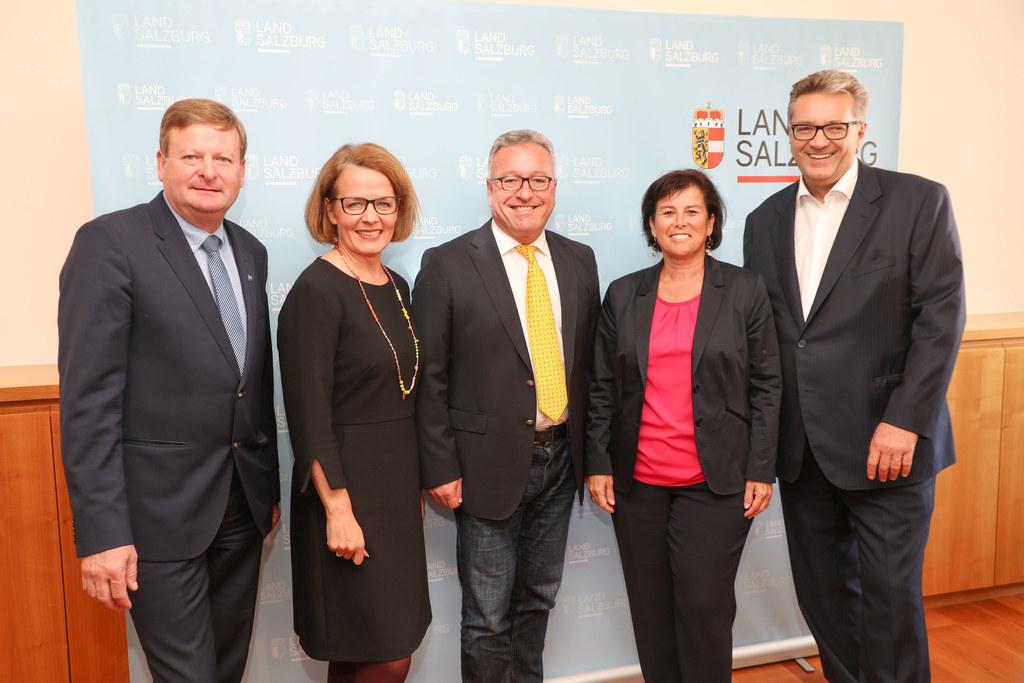 Die Soziallandesräte der Bundesländer berieten sich in Salzburg zum Thema Mindes..