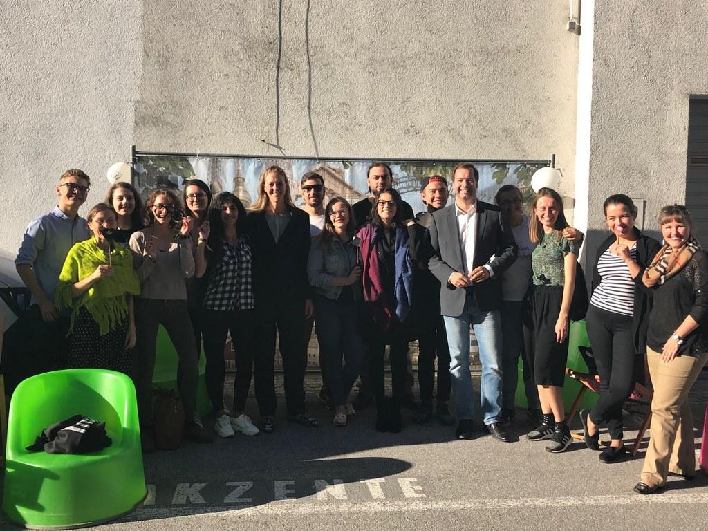 Beim Erasmusday in Salzburg präsentierte sich das europäische Austauschprogramm ..