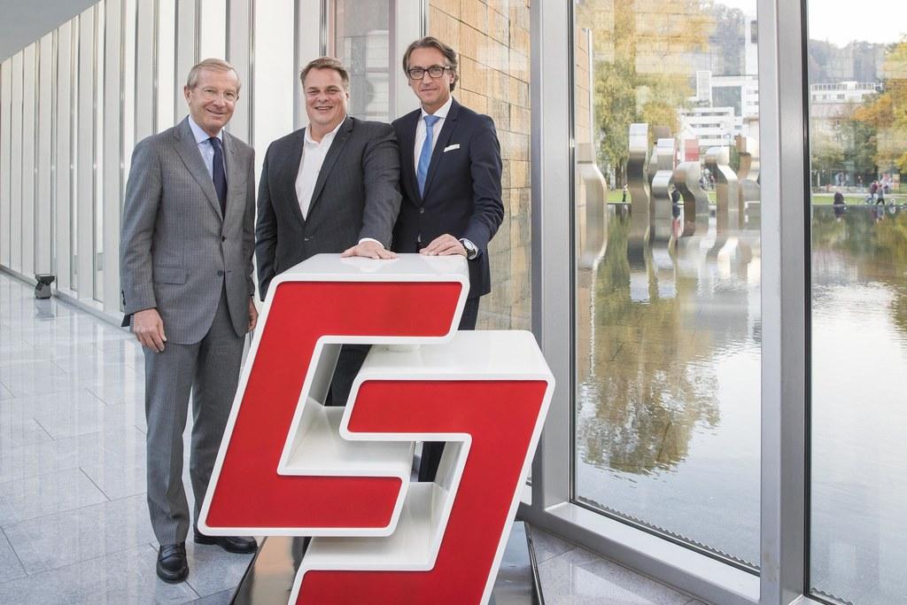 Salzburg AG setzt auf Innovation und Digitalisierung: LH Wilfried Haslauer, Lars..