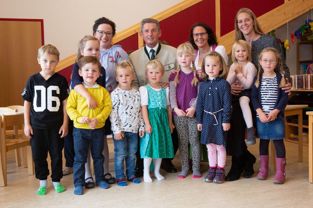 Eröffnung KIndergarten Anthering, im Bild: Kindergartenleiterin Barbara Speil-Ki..
