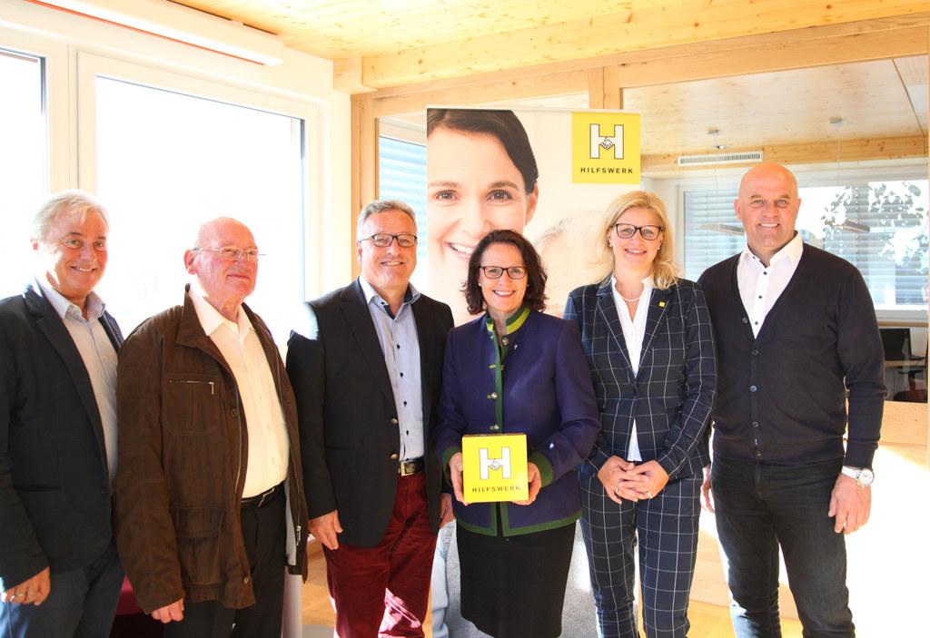 Eröffnung des Familien- und Sozialzentrums sowie Senioren-Tageszentrums in Bramb..