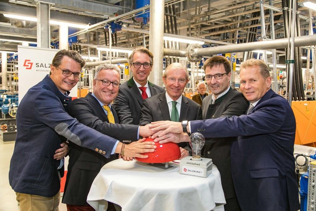 Eröffnung des Pumpspeicherkraftwerks Dießbach, im Bild: Horst Ebner (Vorstand Sa..