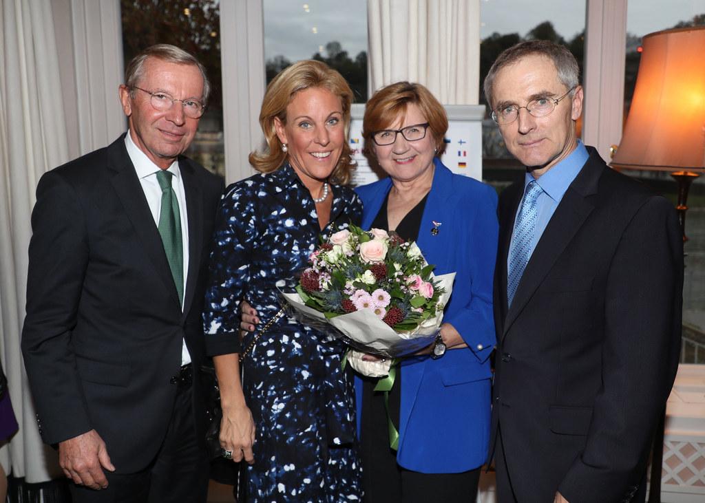 Beim Empfang des Konsularisches Korps im Hotel Sacher dankte Landeshauptmann Wil..