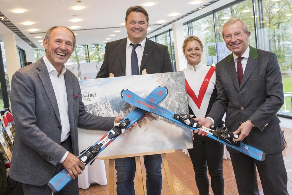 Bringen die Jugend auf die Piste: Leo Bauernberger (GF SalzburgerLand Tourismus)..