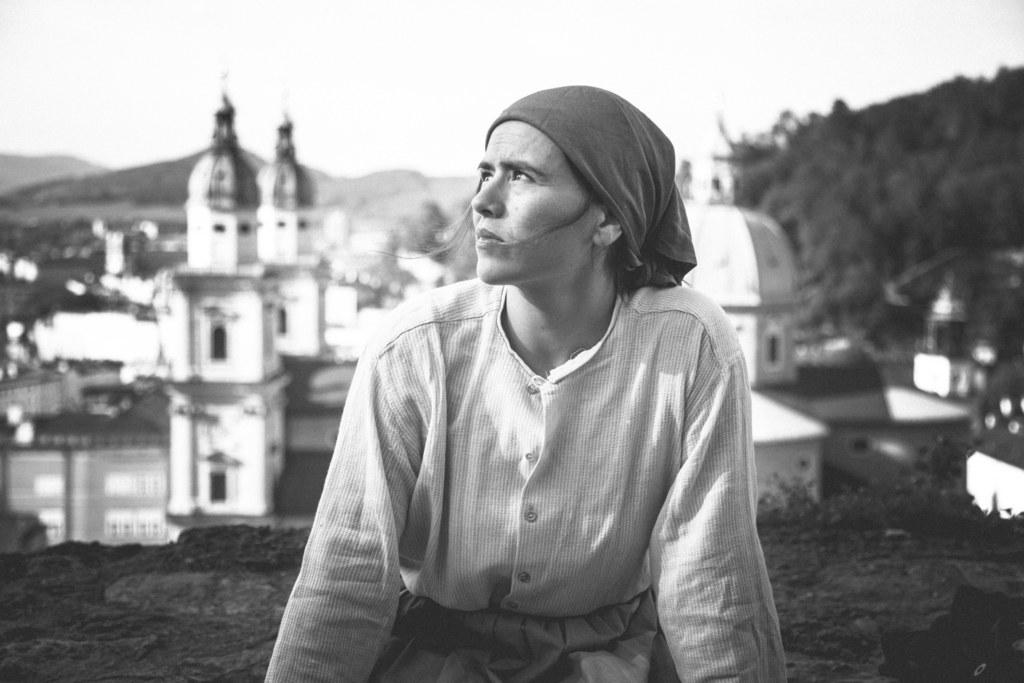 Yarina Gurtner - zugleich Autorin und Hauptdarstellerin des Stücks