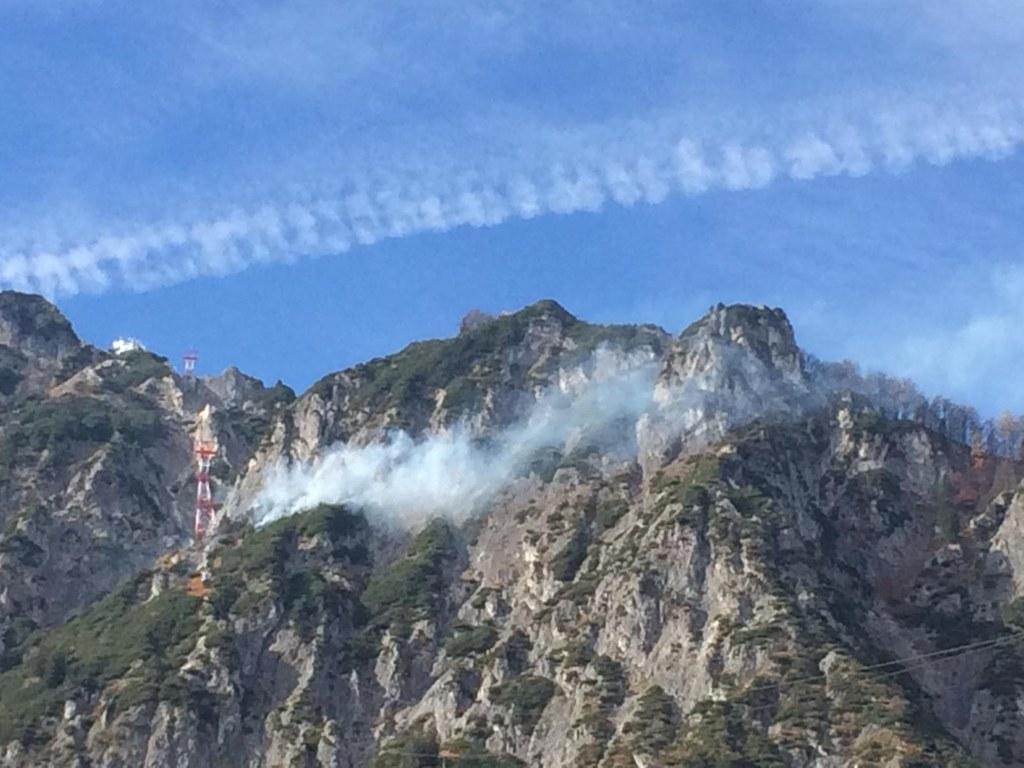 Waldbrand auf dem Untersberg