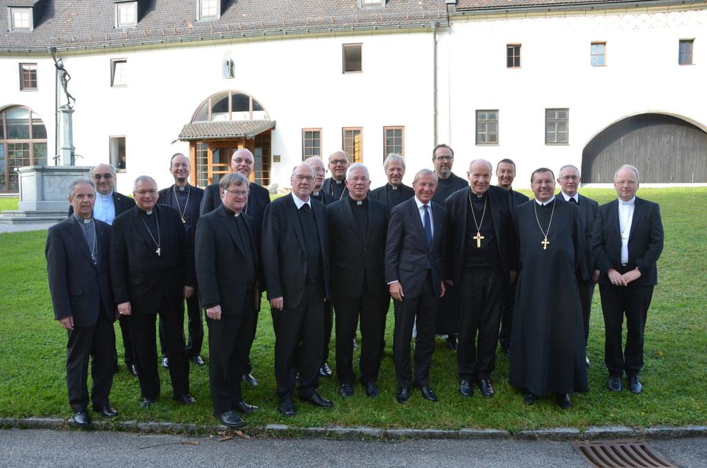 LH Wilfried Haslauer bei der Vollversammlung der Österreichischen Bischofskonfer..