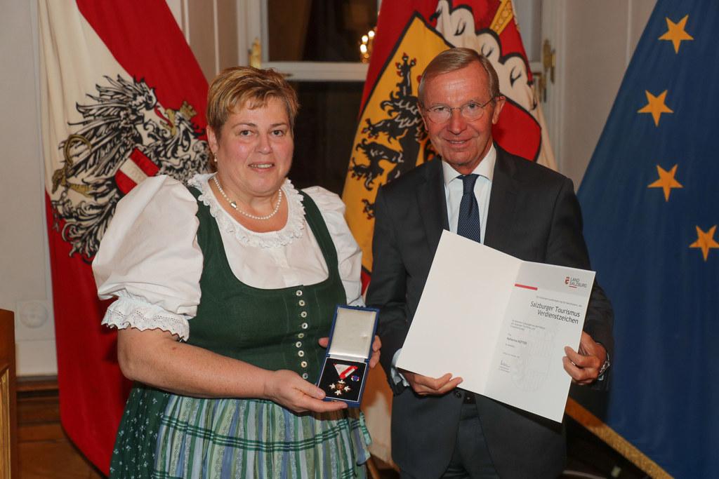 Eine der Vorbilder und Pionierinnen im Salzburger Tourismus ist Katharina Hutter..