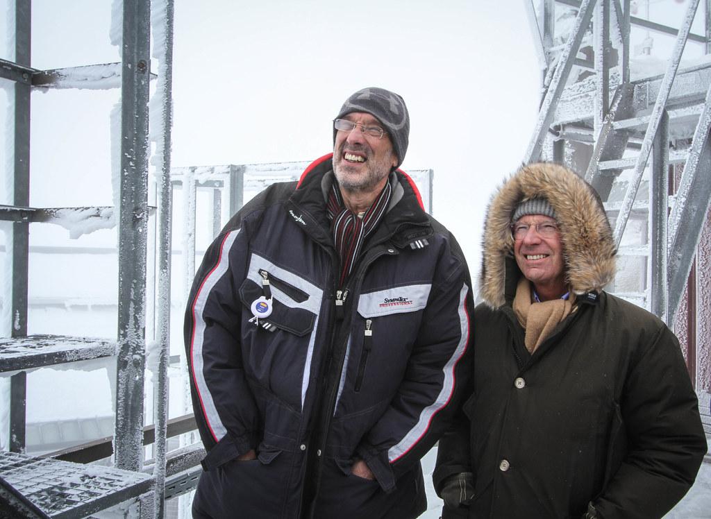 Sturmfest: LH Wilfried Haslauer und Wissenschaftsminister Heinz Faßmann auf 3.10..
