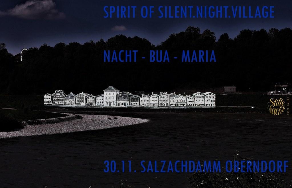 """Mit """"Spirit of Silent.Night.Village"""" wird das Oberndorf von gestern virtuell zum.."""