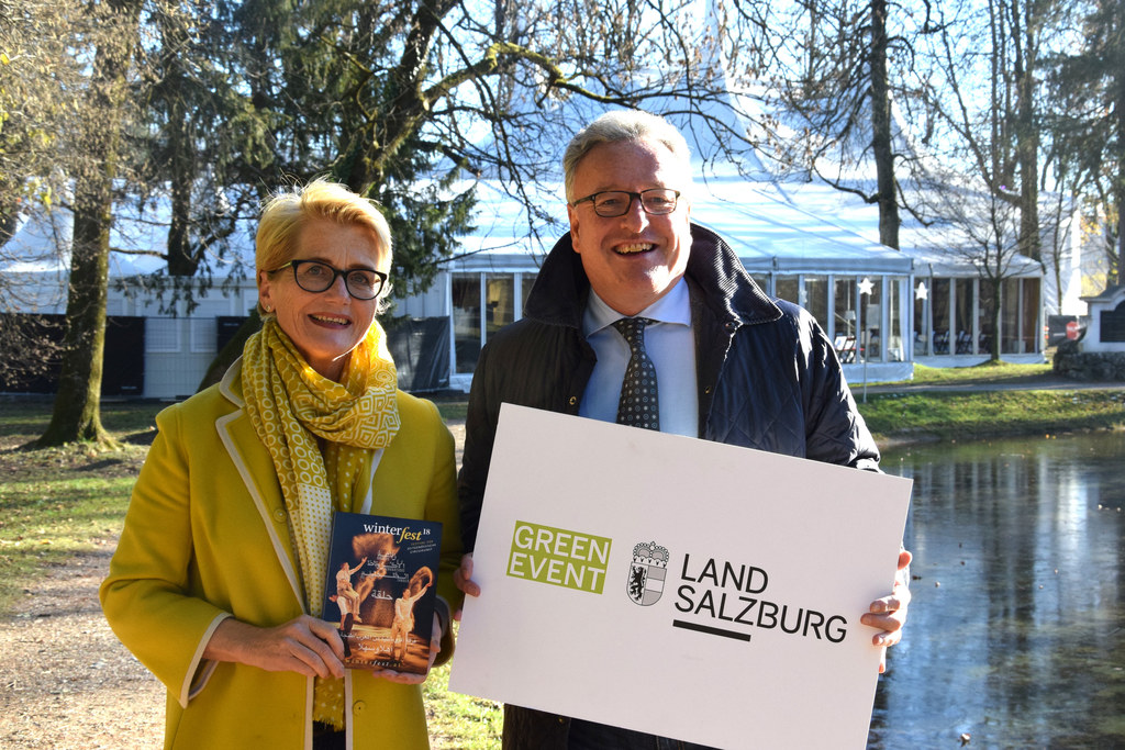 Erfreulich: Fast 100 Veranstaltungen wurden heuer als Green Event durchgeführt, ..