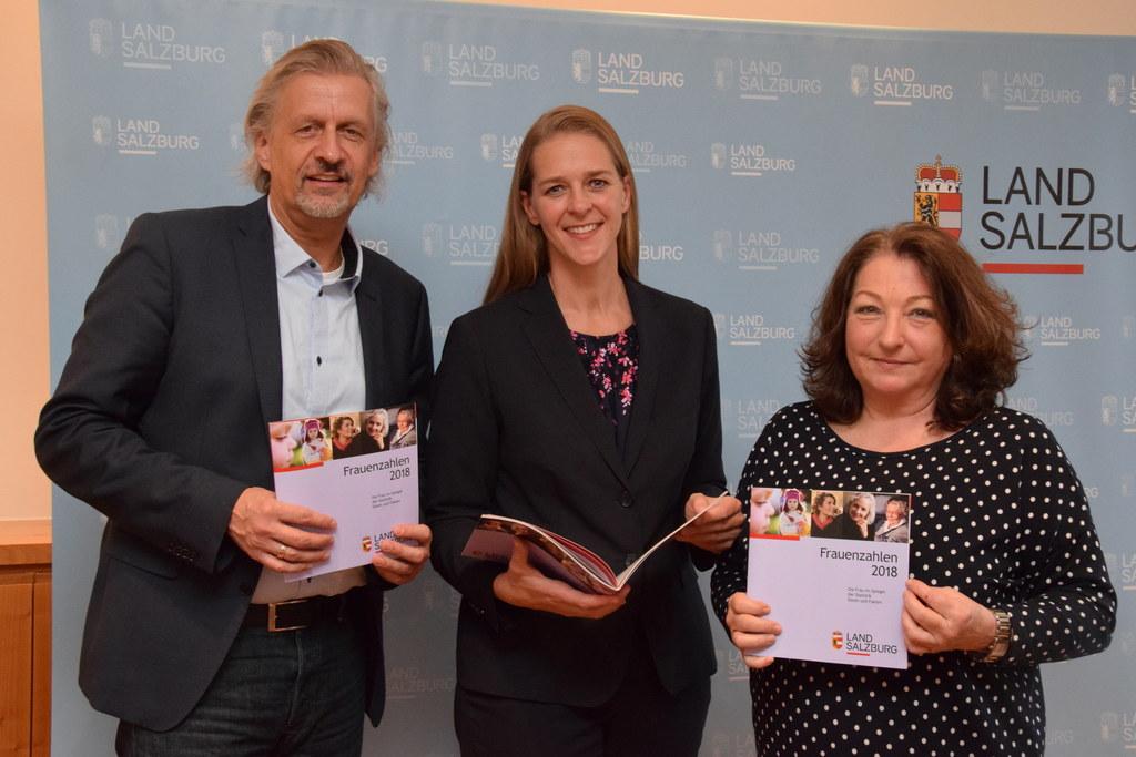 Präsentation der Frauenzahlen 2018: Gernot Filipp, Leiter der Landesstatistik, L..