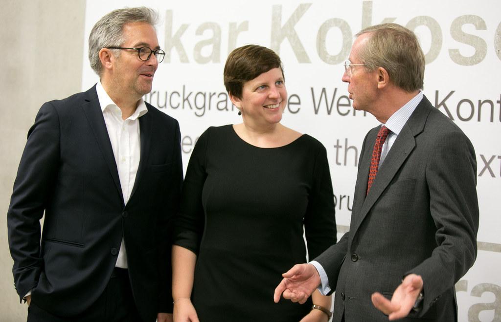 Museums-Direktor Thorsten Sadowsky, die kaufmännische Direktorin Friedrun Schwan..