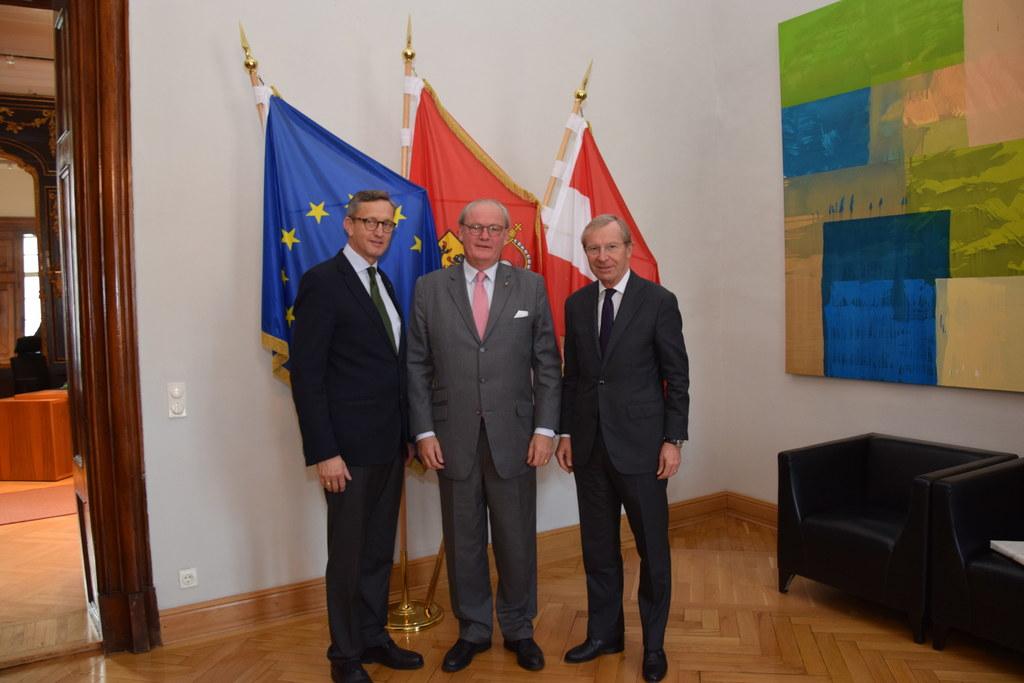 Der neue Botschafter des Malteser Ritterordens in Österreich, Sebastian Prinz vo..