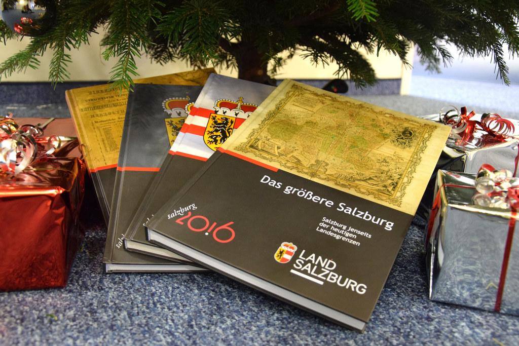 Interessantes über Salzburg in Wort und Bild als Weihnachtsgeschenk: Das Land ha..