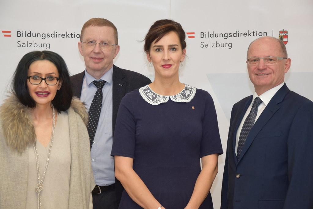 Sie stehen an der Spitze der Salzburger Schulen: Eva Hofbauer (Präsidialbereich)..