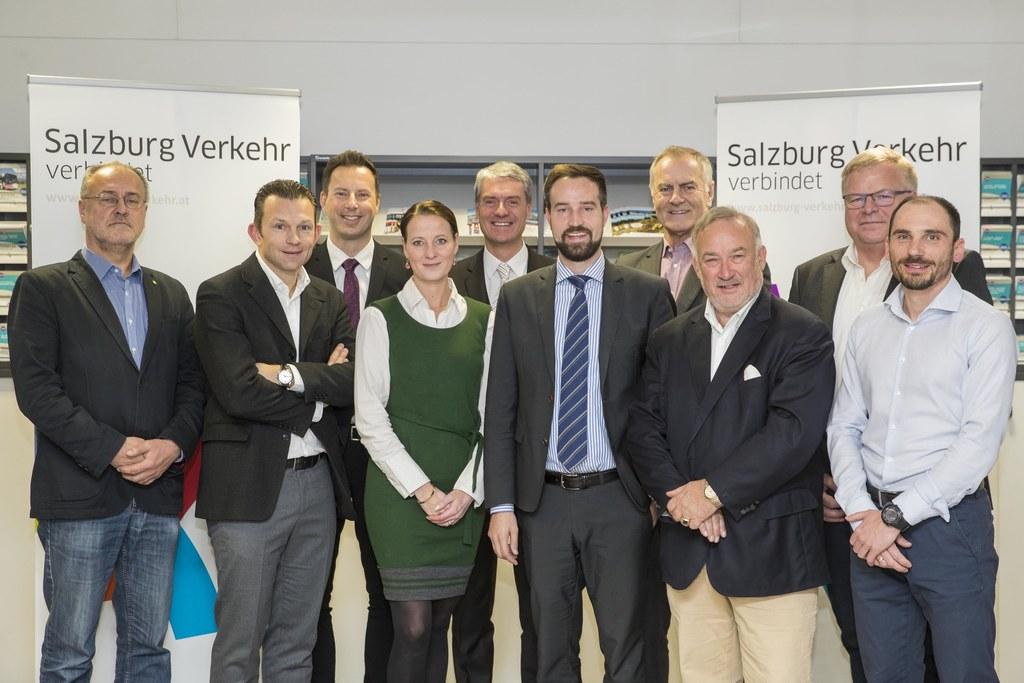Die erste Aufsichtsratssitzung in neuer Besetzung, im Bild: LAbg. Josef Scheinas..