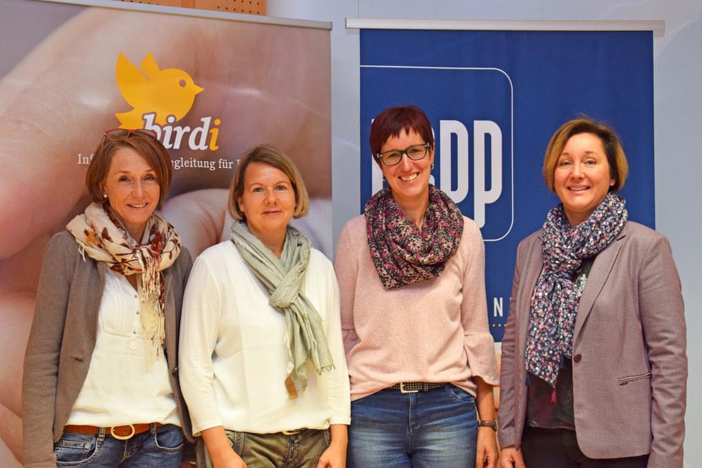 Das birdi-Team: Elisabeth Kraker-Silbergasser, Susanne Fritzsche, Kathrin Fuchs ..