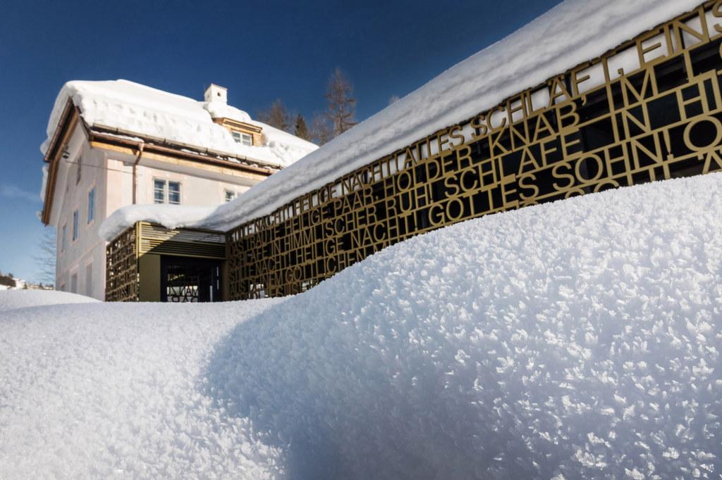 Das Stille Nacht Museum im Pflegerschlössl in Wagrain ist einer der 9 Schauplätz..
