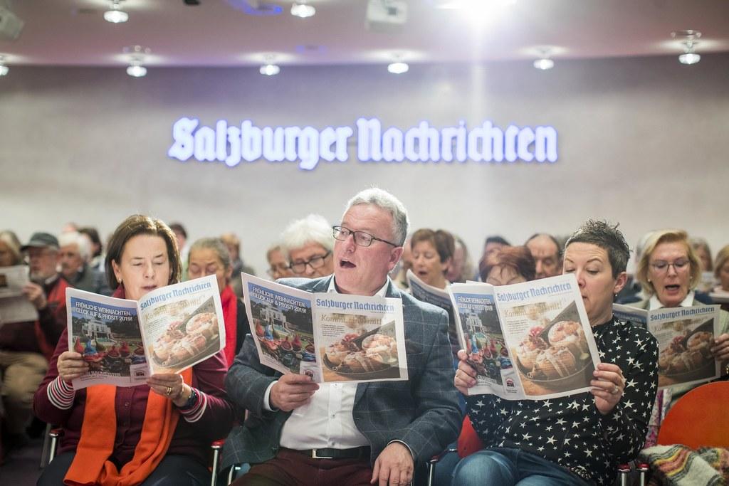 Auch Kulturreferent LH-Stv. Heinrich Schellhorn entpuppte sich als begeisterter ..