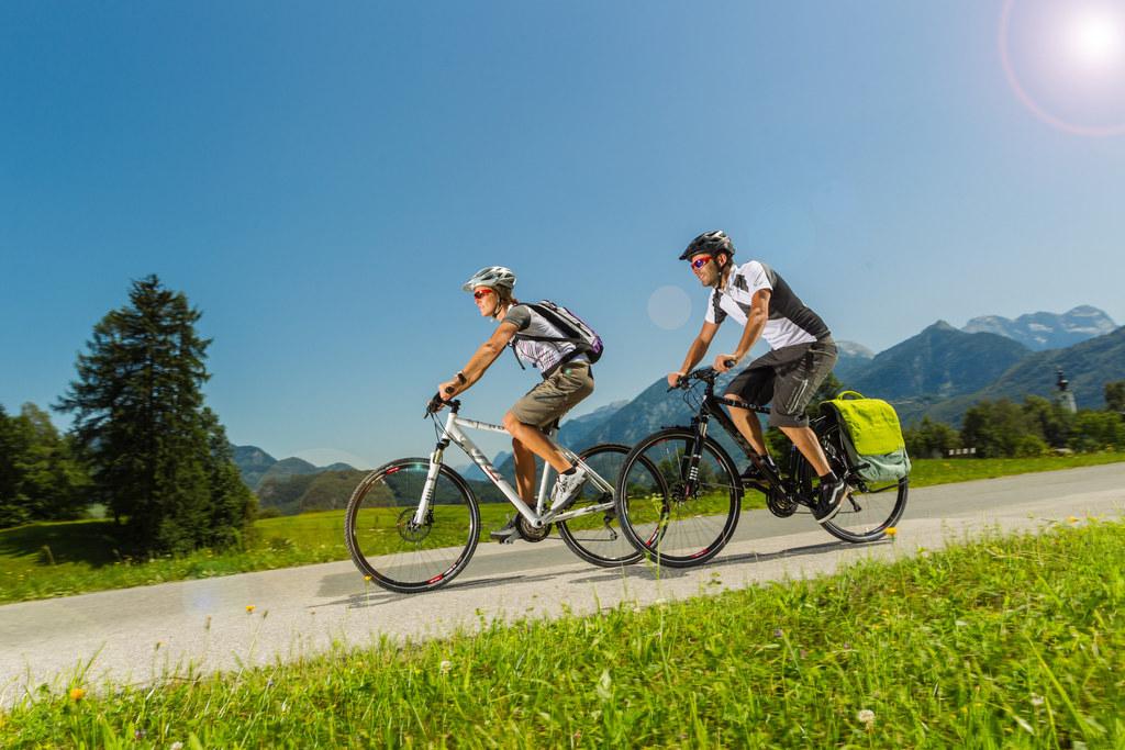 Egal ob gehen, wandern, laufen oder Rad fahren – jede Minute Bewegung zählt bei ..