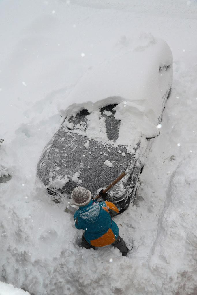 Auch der Sonntag war geprägt von viel Schnee und hoher Lawinengefahr.