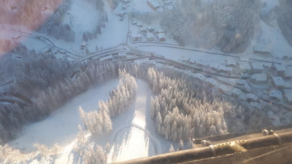 Eine erste Befliegung von Teilen des Tennengaus und des Pongaus entlang der Haup..