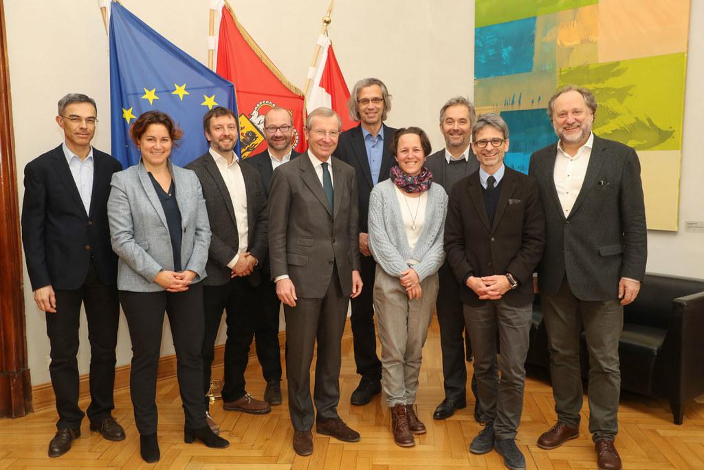 Tagung der Museumsdirektoren mit Landeshauptmann Wilfried Haslauer im Chiemseeho..