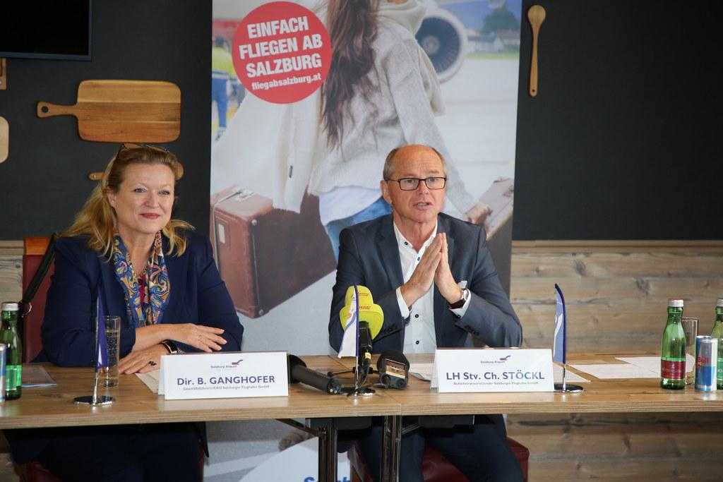 Mehr als 30 Millionen Euro wird der Salzburger Flughafen im Jahr 2019 investiere..