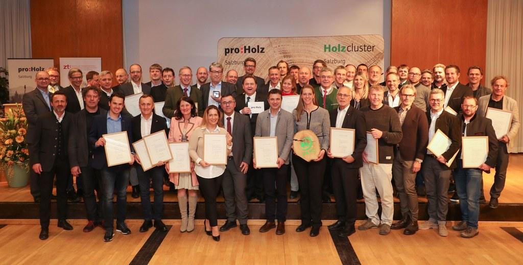 Sie alle stehen für innovative und zukunftsweisende Projekte: die Preisträger de..
