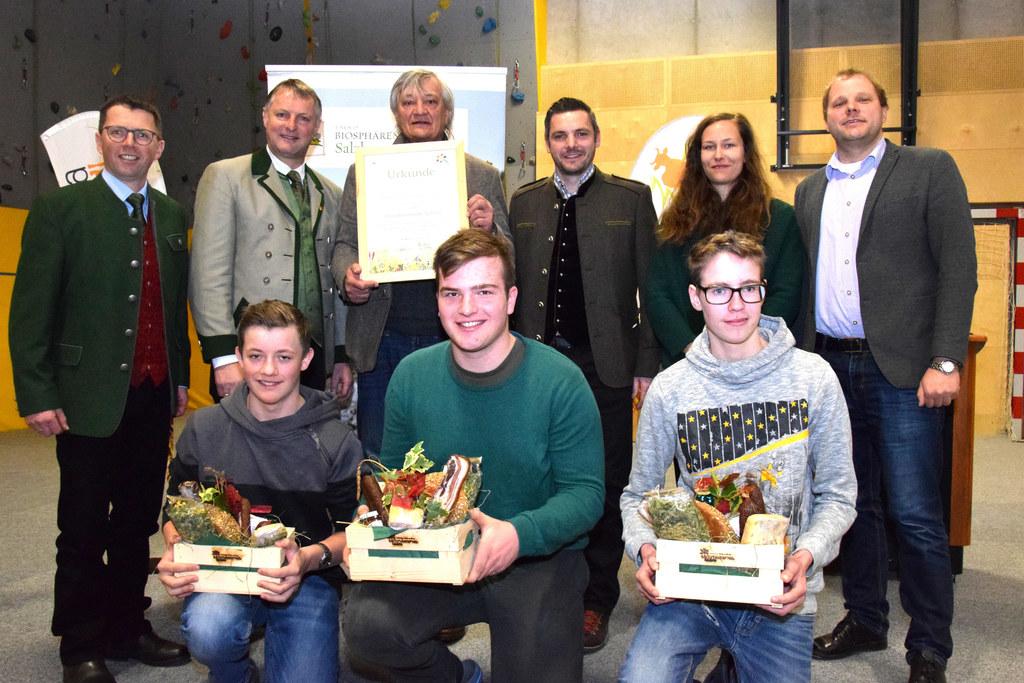 Sie freuen sich über die offizielle Partnerschaft: Bezirksbauernkammer-Obmann Ha..
