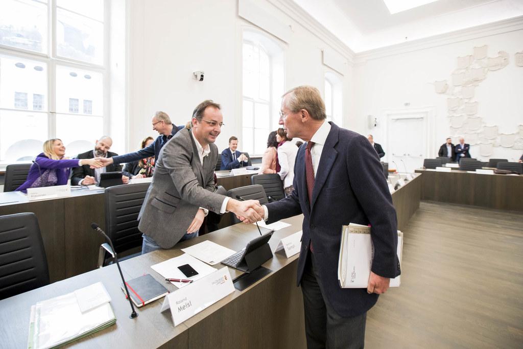 Im frisch renovierten Chiemseehof hielt der Salzburger Landtag heute, Mittwoch, ..