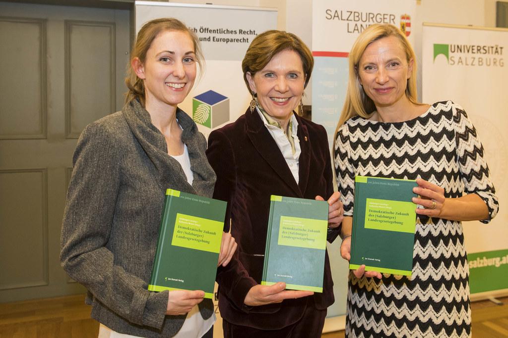Buchpräsentation: Demokratische Zukunft der Salzburger Landesgesetzgebung 100 Ja..