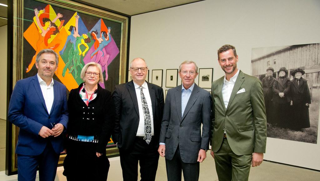 Eröffnung der Ernst Ludwig Kirchner-Ausstellung, im Bild: Direktor Thorsten Sado..