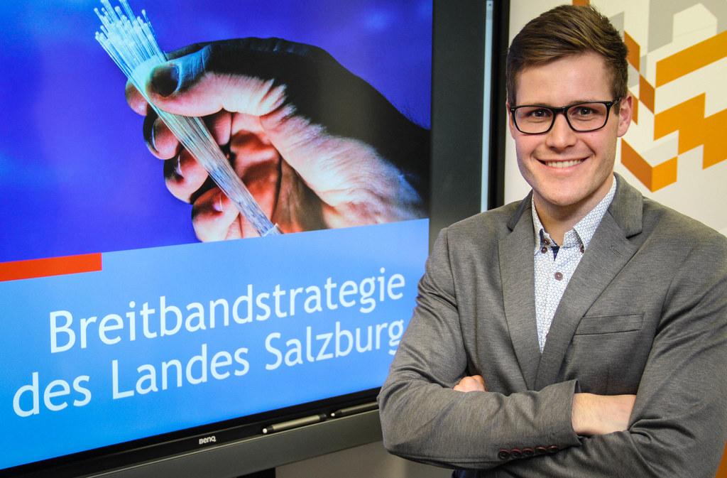 Treibt den Breitband-Ausbau im Land voran:  Koordinator Fabian Prudky.