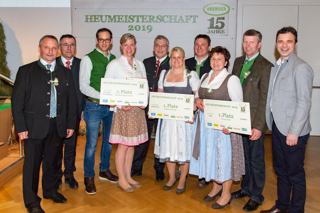 Auszeichnungen für Salzburgs beste Heuproduzenten: ARGE Heumilch-Obmann Karl Neu..