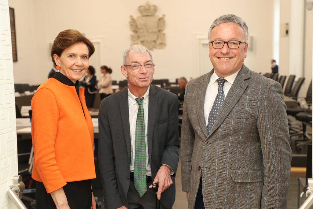 Behindertenanwalt Hansjörg Hofer besichtigte mit LH-Stv. Heinrich Schellhorn und..