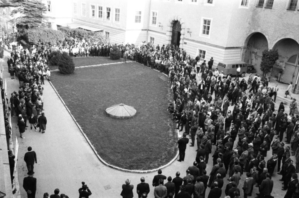 Als 1967 mit Bürmoos die bislang jüngste Salzburger Gemeinde entstand, gingen di..