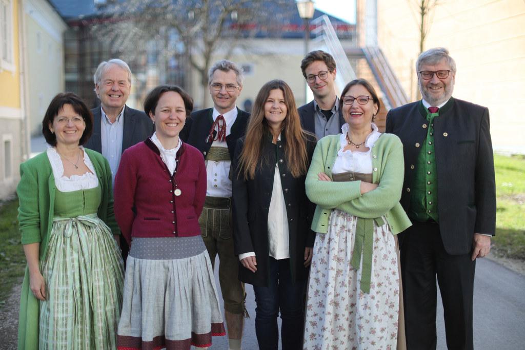 Der Vorstand des Landesverbandes Salzburger Museen und Sammlungen.
