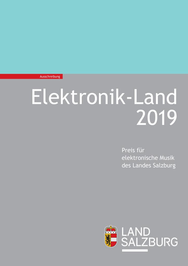 Bewerbungen für den Landespreis für elektronische Musik sind bis 20. Mai möglich..