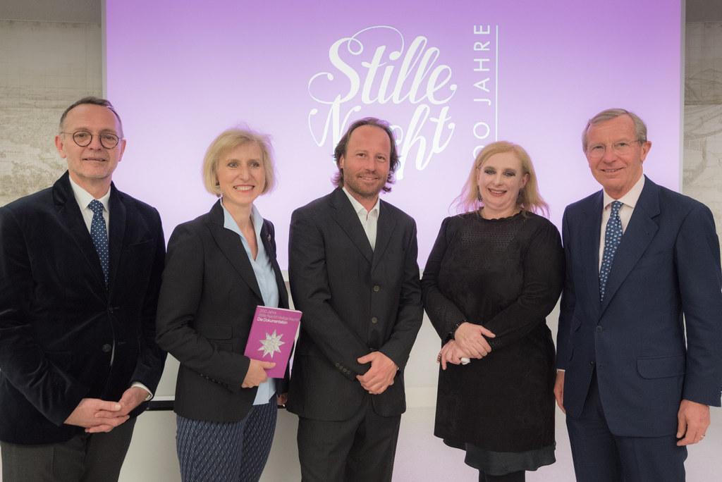 Das Team der Stille Nacht 2018 GmbH - Gerhard Spitz, Andrea Blöchl-Köstner, GF P..